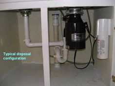 image for kitchen sink garbage disposal installation - Kitchen Sink Grinder