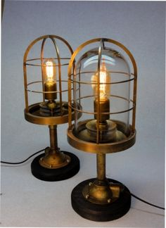"""Trumpy"" Marine grade, table Lamps"