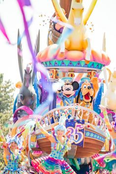 Disney Dream, Disney Love, Disney Magic, Disney Mickey, Disney Parks, Walt Disney, Disneyland Parade, Tokyo Disneyland, Disney Characters Costumes