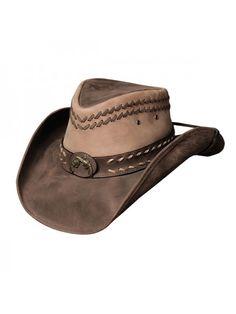 0761eb8c18e19 Bullhide Hideout - Shapeable Leather Cowboy Hat