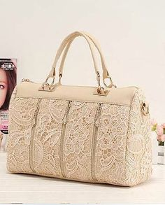 Sweet Style Leisure Lace Handbag