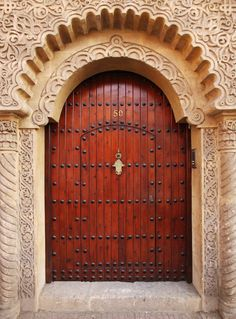 The Royal Doorway from Urban Barn is a unique home décor item. Urban Barn carries a variety of Wall Art & Decor and other Accents furnishings. Islamic Architecture, Beautiful Architecture, Architecture Details, Entrance Doors, Doorway, Grand Entrance, Old Doors, Windows And Doors, Door Knockers
