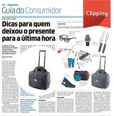 Saiu no Jornal Diário do Nordeste essa super  dica para o dia dos pais.