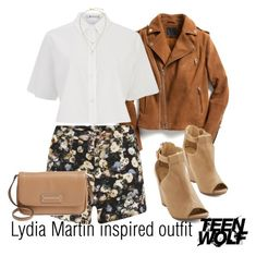 """""""Lydia Martin inspired outfit/TW"""" by tvdsarahmichele ❤ liked on Polyvore featuring Exclusive for Intermix, Lavish Alice, T By Alexander Wang, Marc by Marc Jacobs and Kate Spade"""