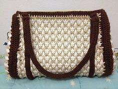 *Free Crochet Pattern:  Textured Purse (archived) by Mary E. Nolfi