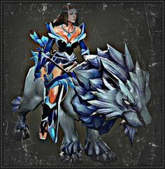 DotA 2 - Mirana Free Papercraft Download