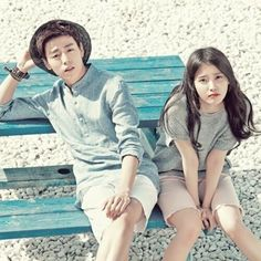 Throwback Lee Hyun Woo and IU for Unionbay ❤