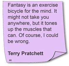 Terry Pratchett #Quote #Author #ScienceFiction