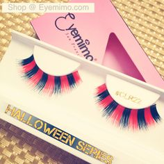 Happy Wednesday! Starting our #halloweeneyelashes series today.