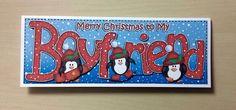 Boyfriend Christmas Card by TheBlenheimCardCo on Etsy