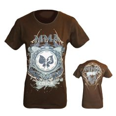 If you are looking for wearing a MMA Chick Prophecy Womens T-Shirt as a fan or a trainer, then you have made it with proboxinggear's one stop shop.