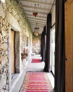 estilo bohemio chic pasillo