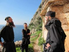 Monks, Mt Athos. Orthodox Christianity, Kirchen, Christian Faith, Priest, Catholic, Religion, Celebrities, Life, Greece
