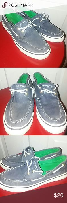 Womens Sperry Top Sider boat shoes Navy blue Biscayne saltwash boat shoes. Excellent used condition. Sperry Shoes Flats & Loafers