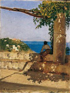 Vincenzo Cabianca, Marina presso Ladispoli