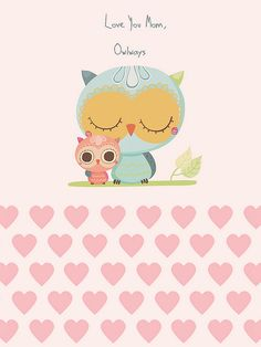 "LoVe yOu m♡m, Owlways!  ""LIKE""us on Facebook ~ {Owlsome Moments}"