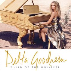"""Child of the Universe: The long-awaited fourth studio album from the Australian pop princess features singles """"Sitting on Top of the World"""" and """"Wish You Were Here"""". This deluxe edition features a second CD of acoustic versions. Cd Cover, Album Covers, Gary Clark, Believe, Child Of The Universe, Delta Children, Number Two, Top Of The World, Female Singers"""