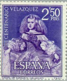 Issued in 1961, Spain - Diego Velázquez