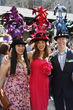 They Are Wearing: Easter Parade and Bonnet Festival in New York - Slideshow