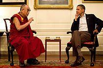 Dali Lama and President Barak Obama