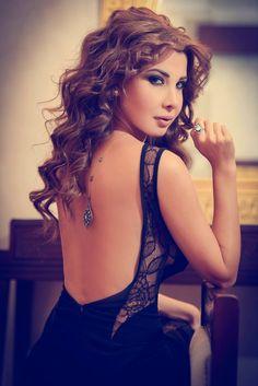 Nancy ajram- the back of her dress is a killer