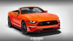 X-Tomi Design: Ford Mustang GT Convertible