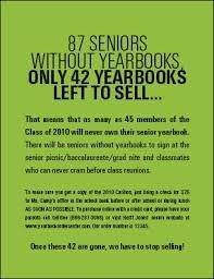 yearbook sales announcement-Great idea