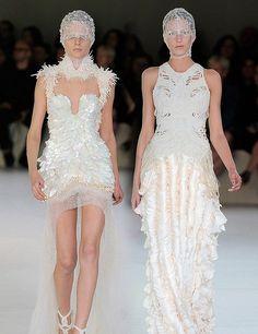 Inspiration Idea Wedding Dresses Unique Alexander Mcqueen Design 1