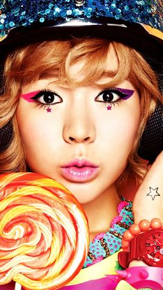Color color everywhere! #SNSD #Sunny Come visit kpopcity.net for the largest discount fashion store in the world!!