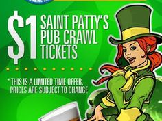 saint pattys pub crawl