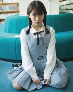 Sexy or Cute girls ① : 네이버 블로그 School Uniform Fashion, Japanese School Uniform, School Uniform Girls, Girls Uniforms, High School Girls, School Girl Japan, Japan Girl, Cute Asian Girls, Cute Girls