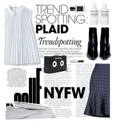 """""""NYFW Plaid"""" by twiluv18 ❤ liked on Polyvore featuring Lacoste, Reike Nen, Chanel, Miss Selfridge, contestentry and NYFWPlaid"""