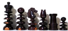 St. George (circa 1830 onwards) Antique English Chess Sets, 1750 – 1850