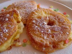 Vegetarian Recipes, Cooking Recipes, Czech Recipes, Bon Appetit, Doughnut, Pancakes, French Toast, Deserts, Food And Drink