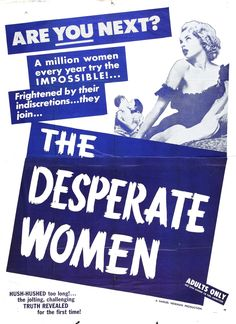 The Desperate Women (1955)