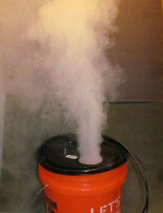 Water Only Fog Machine (No Dry Ice, No Fog Juice) : 7 Steps (with Pictures) - Instructables The Effective Pictures We Offer You About diy halloween accessories A quality picture can tell you many thin Halloween Birthday, Holidays Halloween, Halloween Crafts, Dry Ice Halloween, Halloween Halloween, Halloween Recipe, Women Halloween, Halloween Costumes, Halloween Makeup