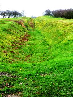 Section of Antonine Wall, near Rough Castle