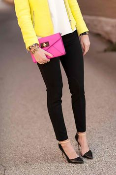 bright yellow jacket