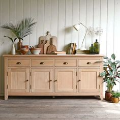 Kitchen Sideboard, Sideboard Decor, Rustic Sideboard, Large Sideboard, Oak Sideboard, Decoration Buffet, Deco Buffet, New Furniture, Dining Room Furniture
