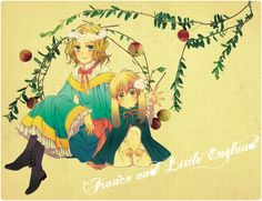 Hetalia: Young France and England