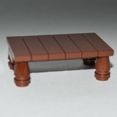 LEGO-Furniture-Brown-Table-Parts-Instructions-minifigure-set-custom