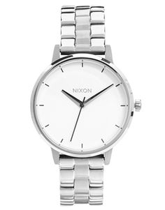 Nixon Silver Kensington Watch