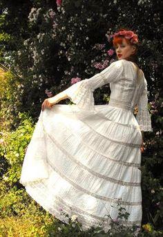 bohemian dress.