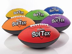 Rainbow SofTex Footballs | Gopher Sport