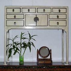 Wandtisch, Holz, weiss, 4 oder 8 Schübe & 2Türen gesehen: sam nok