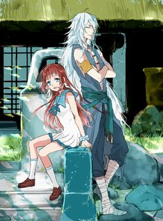 Manaka and Uroko-sama        ~Nagi No Asukara