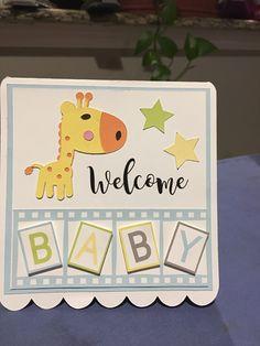 Baby Scrapbook, Scrapbook Cards, Scrapbooking, Homemade Greeting Cards, Homemade Cards, Spellbinders Cards, Stampin Up Cards, Card Crafts, Paper Crafts