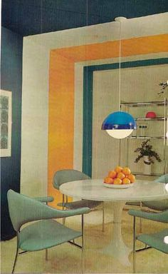 1975 MID CENTURY MODERN Mod Decorating book Better by populuxe