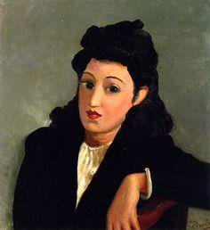 Portrait of a Woman / Andre Derain - circa 1934-1939