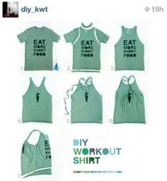 Do your new tee-shirt.